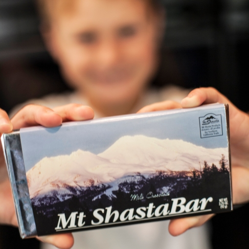 Mt. Shasta Chocolate Bar