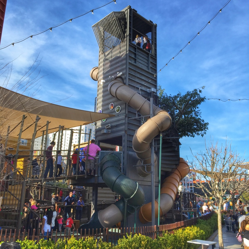 Container park slide